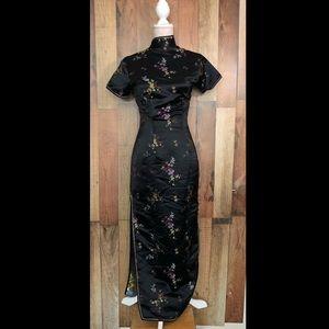 Dresses & Skirts - Blue Dragon - Traditional Cheongsam Chinese dress.